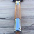 Razor, Chrome magnum 'Bullet cartridge' razor handle turned from Australian cher