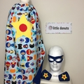 ~ Boy's Personalised Standard Superhero Set ~ MADE TO ORDER ~ Cape, Mask & Cuff