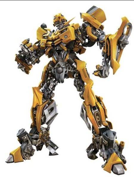 Edible Transformers Bumblebee Rice Paper Character Cake