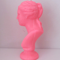 Lady Candle: Neon Pink