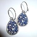 Tear drop earrings Free postage