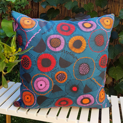 Jocelyn Proust Circles Cushion with 100% Recycled Insert