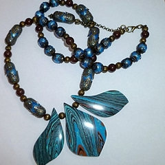 Turkey turquoise necklace