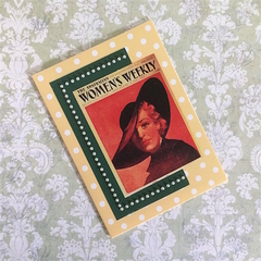 'Women's Weekly 1936 Cover Girl' All Occasion Blank Card
