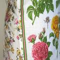 Metro Retro ROSES  Vintage Tea Towel Kitchen Apron . Choose One