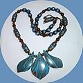 Turkey turquoise necklace