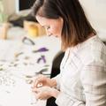 Rabbit earrings - rabbit stud earrings - Eco friendly laser cut wooden jewelry,