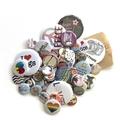 Button badges / fridge magnets Sample pack