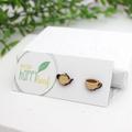 Tea pot and tea cup earrings - tea lover jewelry - gift for tea lover