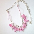 Coconut ice necklace