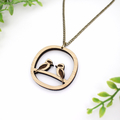 Kookaburra necklace - Kookaurra jewellery - Australiana necklace - native austra