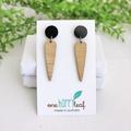 Statement earrings - gift for wife - large earrings - work earrings