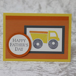 Truck Father's Day Card