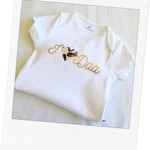 I Heart Dad Fathers Day Baby Onesie New Dad Gift
