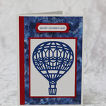 Hot Air Balloon Father's Day Card