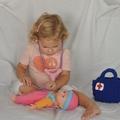 Sweet Doctors Set / Educational Play / Woollen Toy