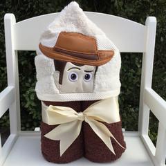 Sherriff Hooded Towel