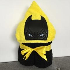 Bat Boy Hooded Towel