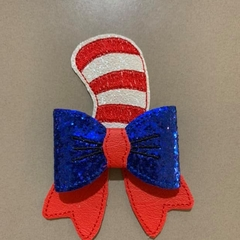 Cat in the Hat Style Hair Bow