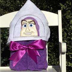Spaceman Hooded Towel