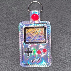 Retro Game Boy Key Ring/Bag Tag