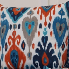 OUTDOOR CUSHION COVERS - SET OF 2IKAT PATTERN