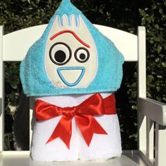 Spork Hooded Towel