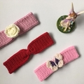 Woollen Ear Warmers / Headbands