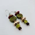 In The Wild Collection - Sa-fari, so good. Kazuri Bead Earrings.