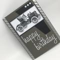 Birthday Card - Vintage Car