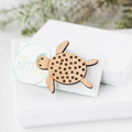 Turtle brooch - marine gift - sea animal gift, turtle pin, turtle lover gift