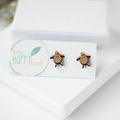 Turtle earrings - turtle jewellery - earrings - ocean animal jewellery, sea turt