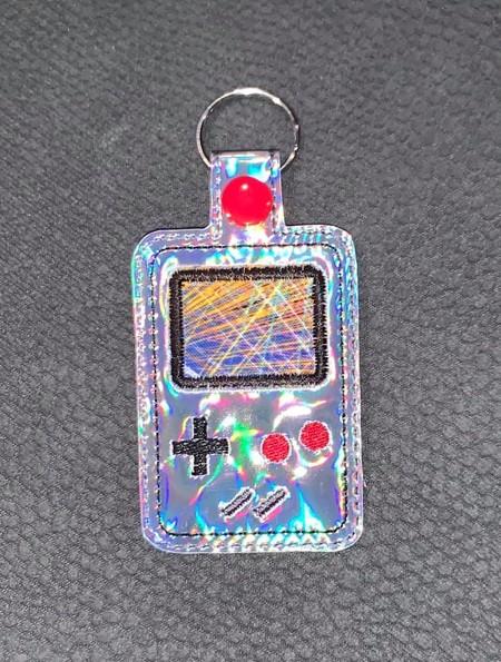 Retro Game Boy Key Ring/Bag Tag