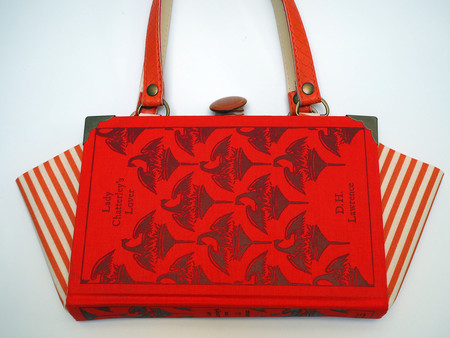 Lady Chatterley's Lover book bag - D.H. Lawrence - Bag made from a book