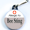 ALLERGIC TO BEE STING