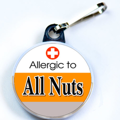 ALLERGIC TO ALL NUTS