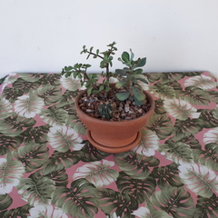 BANANA LEAF SQUARE TABLECLOTH