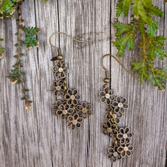 Beautiful Daisy Chain Earrings