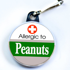 ALLERGIC TO PEANUT