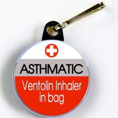 ASTHMA TIC - Ventolin Inhaler in Bag