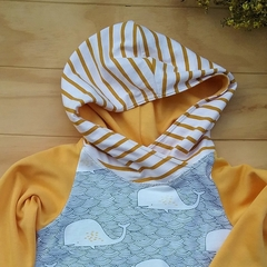 Long Sleeve Pullover with Hood - Size 2-3T