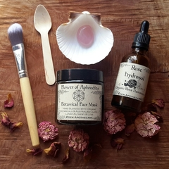 Organic Botanical Facial Care Bundle | Inner Goddess Beauty LoveThyself Ritual