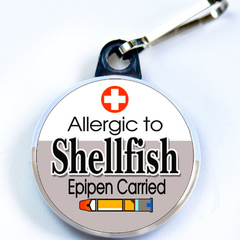 ALLERGIC TO SHELLFISH & EPIPEN