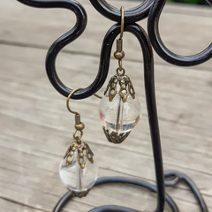 Glass (I can see right through you) Earrings