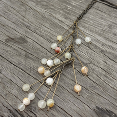 Pale Stone Necklace