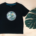 Size 3 Tshirt  - Jungle Animals - Applique - Elephant - Boys -