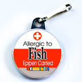ALLERGIC TO FISH & EPIPEN CARRIED