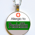 ALLERGIC TO PENICILLIN - Necklace