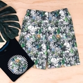 Size 5 - Shorts - Jungle Animals - Boys - Retro - Cotton