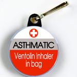 ASTHMA TIC - Ventolin Inhaler in Bag